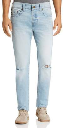 True Religion Rocco Slim Fit Jeans in Worn Light Energy