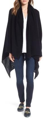 Women's Halogen Waffle Knit Cashmere Wrap $189 thestylecure.com