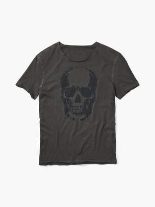 John Varvatos Skull Applique Tee