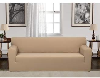 Rebrilliant Anti-Slip Spandex Elastic Stretch T-Cushion Sofa Slipcover
