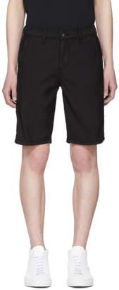 Rag & Bone Black Standard Issue Shorts