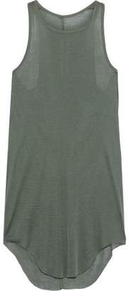 Rick Owens Slub Silk-jersey Tank