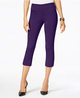 Alfani Tummy-Control Pull-On Capri Pants