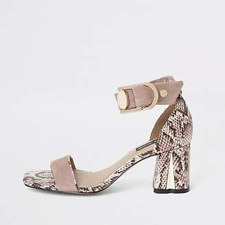 ab15dcc3dc4 River Island Pink Women's Shoes - ShopStyle