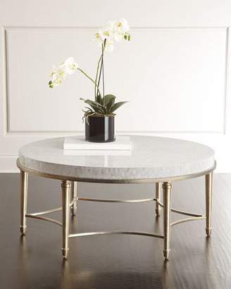 Hooker Furniture Cynthia Rowley for Aura Round Coffee Table