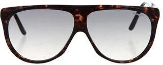 Saint LaurentYves Saint Laurent Tortoiseshell Oversize Sunglasses