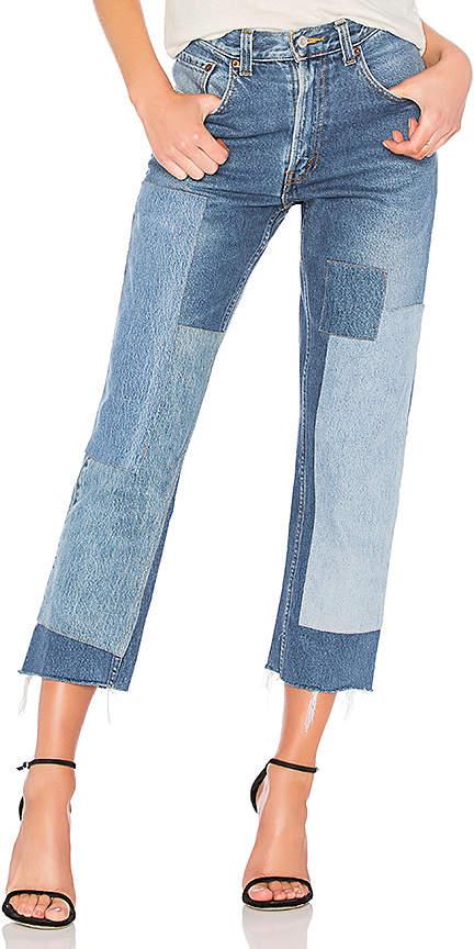 Vintage Patchwork Denim 550 Jean.