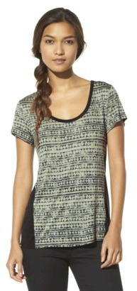 Converse One Star® Women's Shortsleeve Calyer Print Top - Assorted Colors