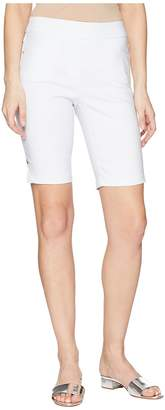 Tribal Stretch Bengaline 10 Pull-On Flatten It Shorts Women's Shorts