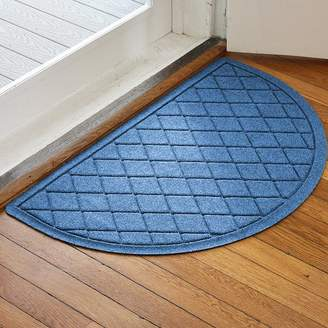 Latitude Run Ainaro Aqua Shield Argyle Doormat