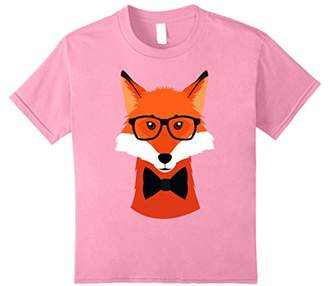 Hipster Fox T-shirt (zoo animal birthday shirt)