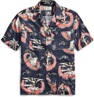 Ralph Lauren Tropical-Print Camp Shirt