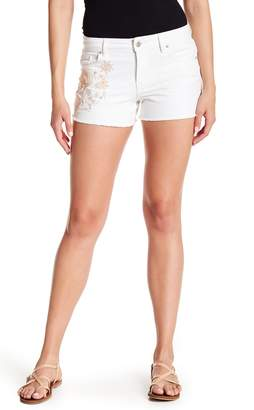 Jessica Simpson Cherish Classic Fit Embroidered Shorts