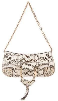 Dolce & Gabbana Python Evening Bag