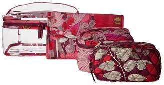 Vera Bradley Travel Cosmetic Set Cosmetic Case