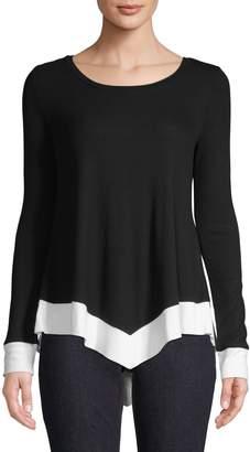 INC International Concepts Colourblock Hanky Sweater