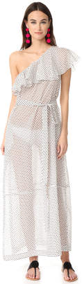 Lisa Marie Fernandez Arden Flounce Dress $845 thestylecure.com