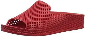 Skechers Women's Cali Glitz-Infrared-Sculpted Mesh Front Single Band Slide Sandal