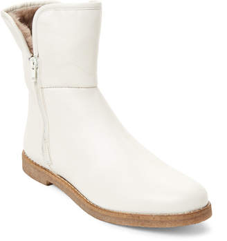 Nuova Cream Real Fur-Lined Boots