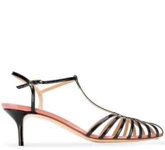 Francesco Russo T-bar strappy sandals