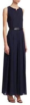 Akris Wool Crepe Maxi Dress