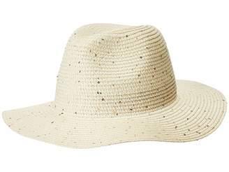 Calvin Klein Sequin Straw Panama Caps