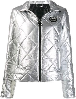 Philipp Plein Cyrstal puffer jacket