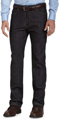 Ermenegildo Zegna Five-Pocket Jeans, Black