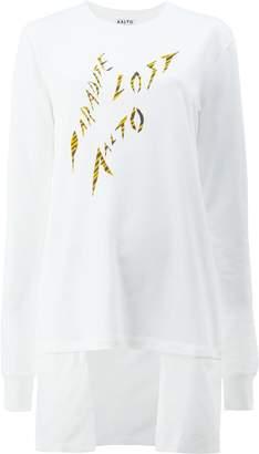 Aalto プリント ロングTシャツ