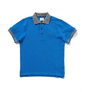 Armani Junior Boys Short Sleeve Core Polo Shirt