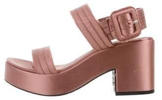 Pedro Garcia Decima Platform Sandals w/ Tags