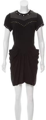 Isabel Marant Embellished Crepe Dress