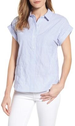 Women's Vineyard Vines Stripe Dolman Sleeve Shirt $78 thestylecure.com