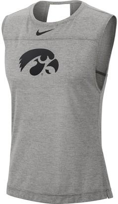 Nike Women's Iowa Hawkeyes Breathe Tank Top