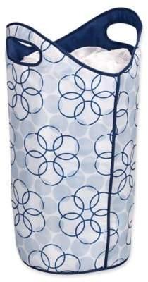 16-Inch Softside Laundry Hamper in Blue
