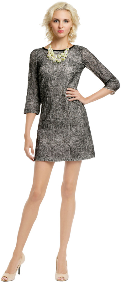 Peter Som Mockingbird Lace Shift
