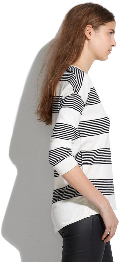 Madewell Deckhouse Sweater in Stripe
