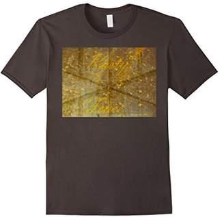Rusty Fence Nail Metal Car Logo Shirt Pattern