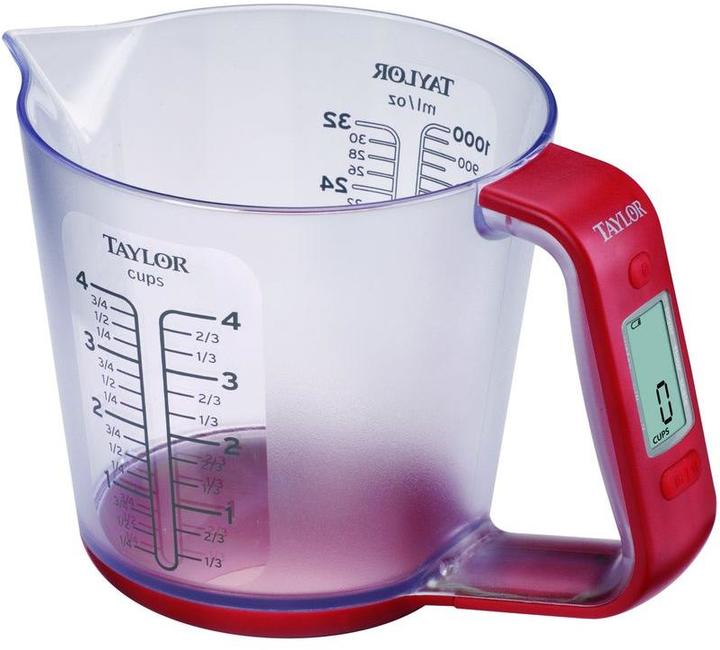 Taylor Digital Scale Measuring Cup
