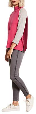 Maryland Stripe Skinny Fit Jeans, Grey