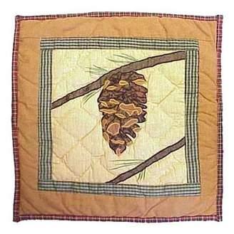 Patch Magic Pinecone Toss Pillow