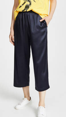 6397 Silk Wide Leg Pull On Trousers