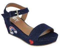 Mia Kid's Miriam Wedge Sandals