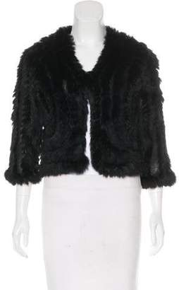 Fur Knit Fur Cardigan