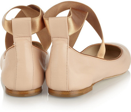 Chloé Leather ballet flats