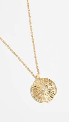 Jules Smith Designs Sol Coin Pendant Necklace