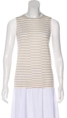 Akris Punto Wool Striped Top