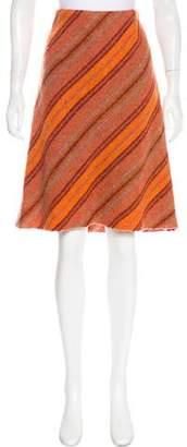 Akris Punto Patterned Knee-Length Skirt
