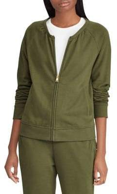 Lauren Ralph Lauren French Terry Mockneck Jacket