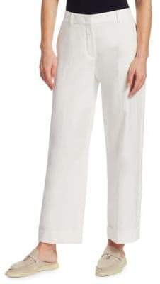 Loro Piana Adam Twill Cuffed Pants